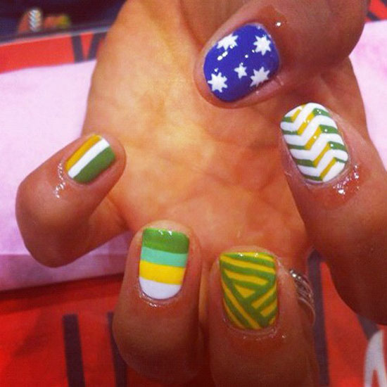 London Olympics 2012 Nail Art Designs, Supplies & Stickers