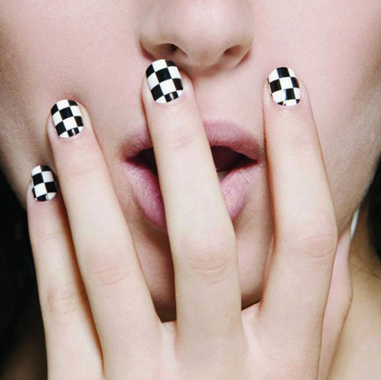 20 easy simple black nail art designs supplies galleries for cartoon network style nails prinsesfo Choice Image