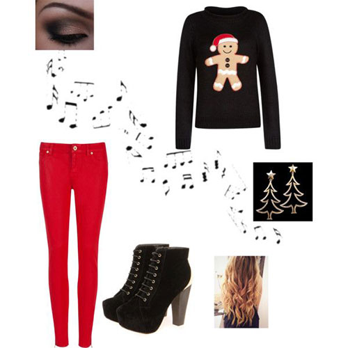 Polyvore Costumes - Amazing Christmas Party Outfits 2013/ 2014 Polyvore Xmas Costumes