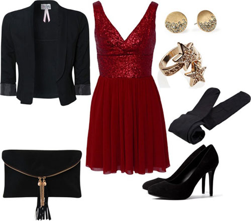 Amazing Christmas Party Outfits 2013/ 2014 | Polyvore Xmas...