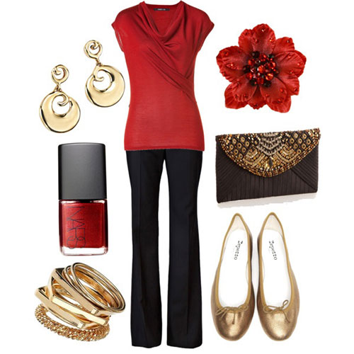 Buy from Polyvore - Latest Christmas Party Outfits 2013/ 2014 Polyvore Xmas Costumes