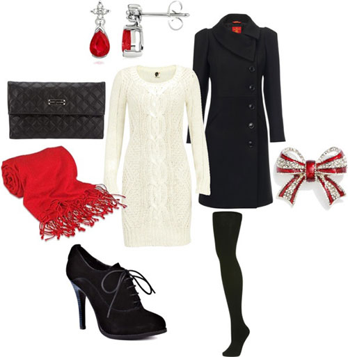 Xmas Costumes. Buy from Polyvore - Latest Christmas Party Outfits 2013/ 2014 Polyvore Xmas Costumes