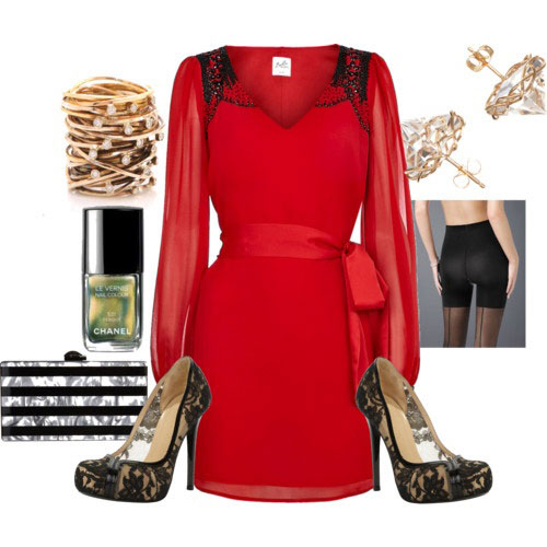 Casual Christmas Party Outfits 2013/ 2014  Polyvore Xmas Costumes ...
