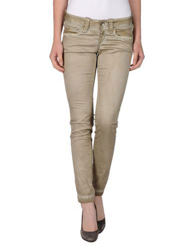 girls khaki pants - Pi Pants