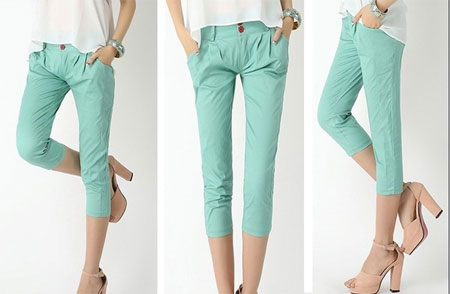 Amazing Collection Of Pleated Pants For Girls 2013 | Girlshue