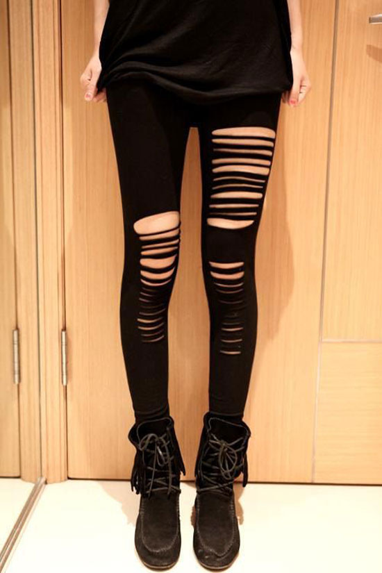 Amazing Collection Of Black Leggings & Tights For Girls 2013 ...