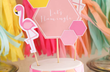 15+ Summer Themed Cake Toppers  1