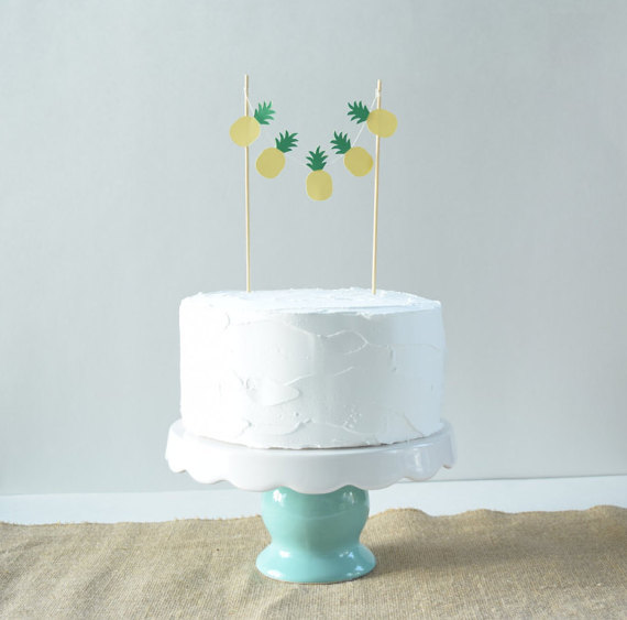 15+ Summer Themed Cake Toppers 2