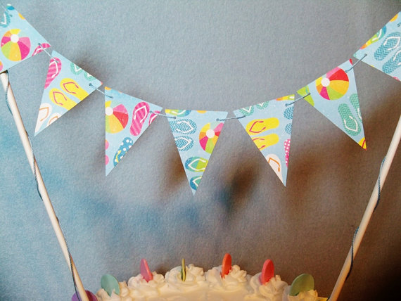 15+ Summer Themed Cake Toppers 3