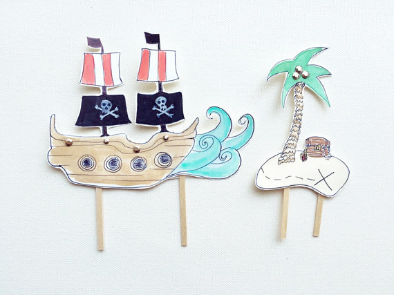 15+ Summer Themed Cake Toppers 7