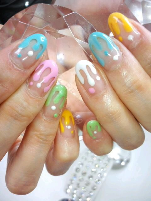 Ice Cream Nail Art Ideas for Summer 2016 10