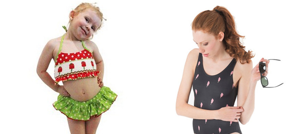Ice Cream Swimsuits for Kids and Adults for this Summer 2016