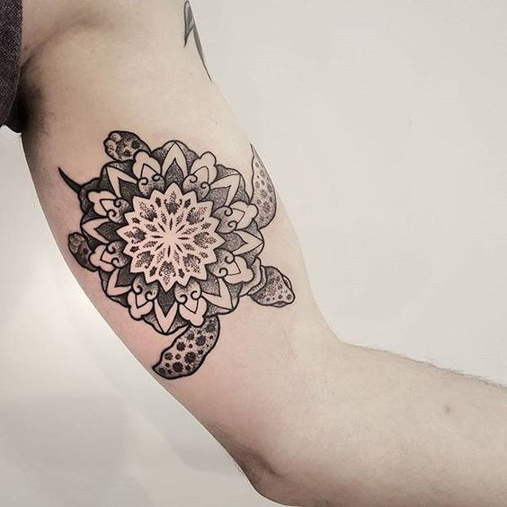 Mandala Tattoo Ideas for Summer 2016 14