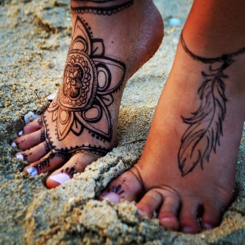 Mandala Tattoo Ideas for Summer 2016 8