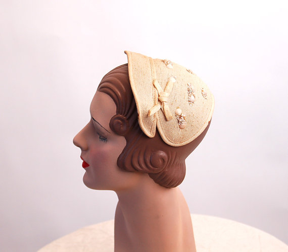 Seashell Fascinators for Brides and Bridesmaids 2016 15