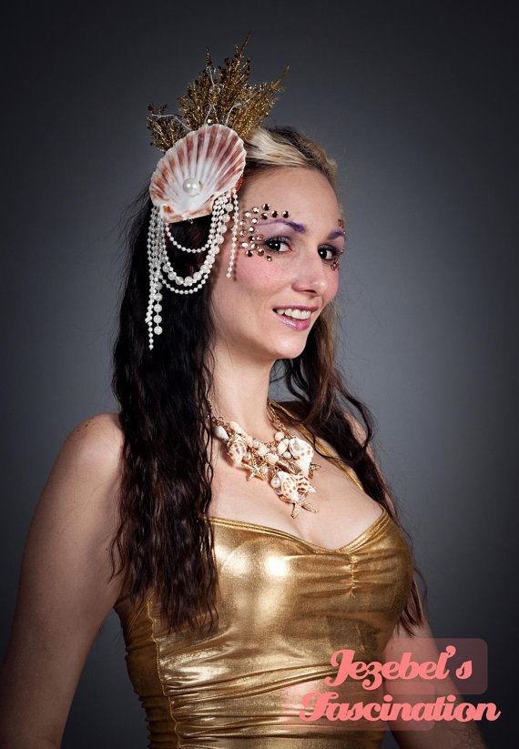 Seashell Fascinators for Brides and Bridesmaids 2016 3