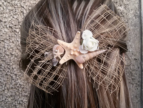Seashell Fascinators for Brides and Bridesmaids 2016 5
