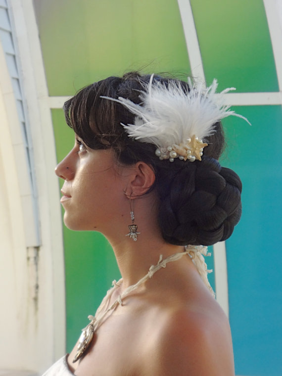 Seashell Fascinators for Brides and Bridesmaids 2016 6