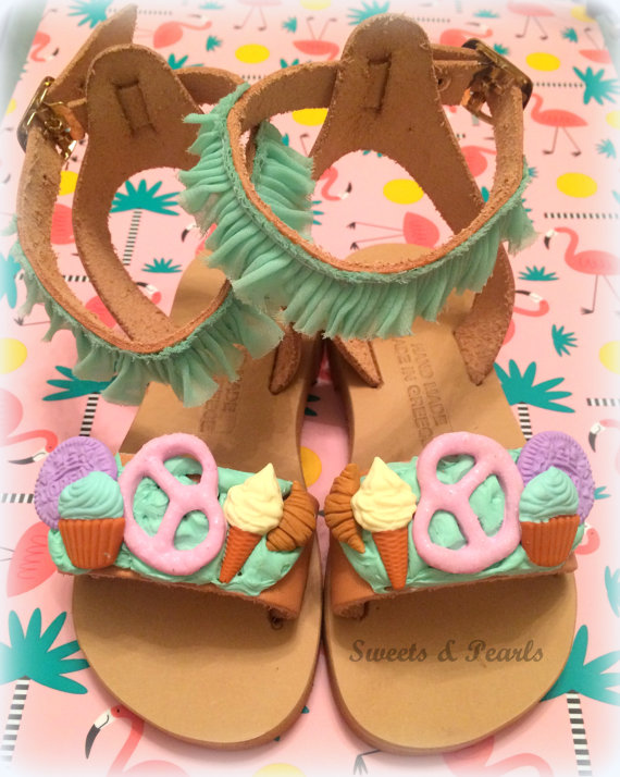 15+ Summer Sandals for Kids 2016 14
