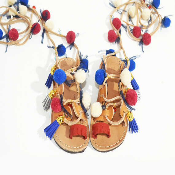 15+ Summer Sandals for Kids 2016 4