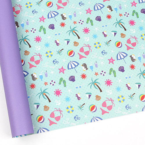 15+ Summer Themed Wrapping Papers 1
