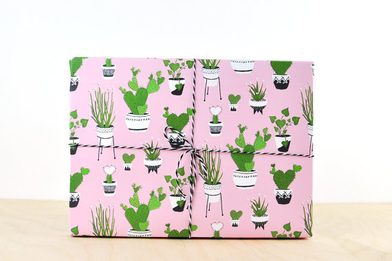 15+ Summer Themed Wrapping Papers 16
