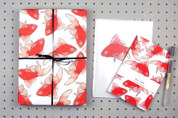 15+ Summer Themed Wrapping Papers 17