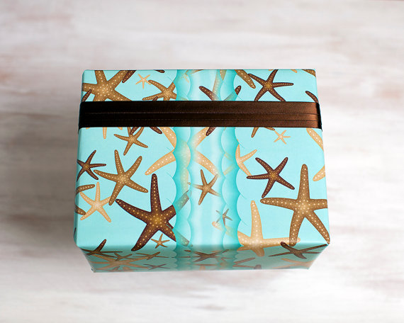 15+ Summer Themed Wrapping Papers 18