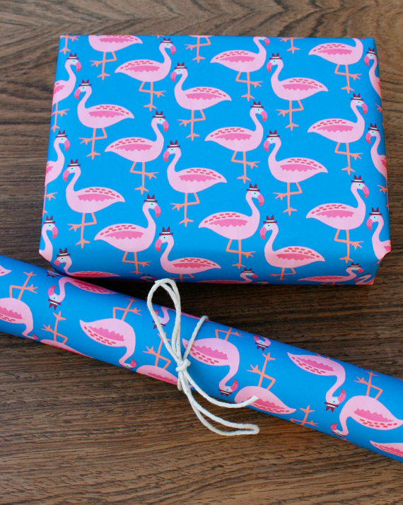 15+ Summer Themed Wrapping Papers 5