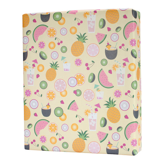 15+ Summer Themed Wrapping Papers 6