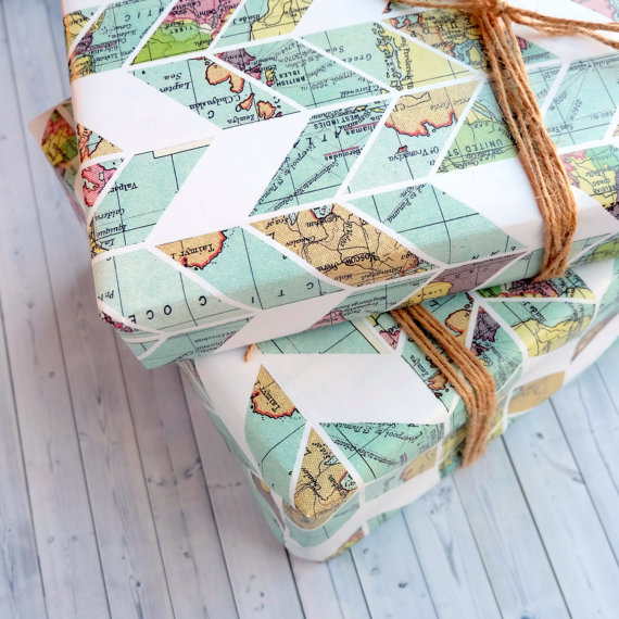 15+ Summer Themed Wrapping Papers 8