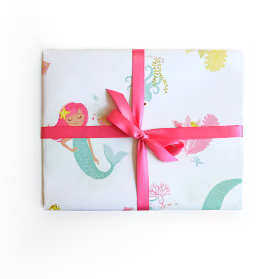 15+ Summer Themed Wrapping Papers 9