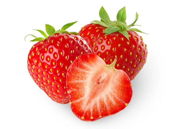 three-strawberries