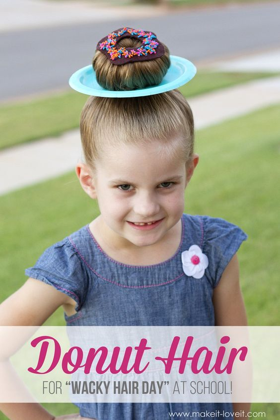 Fun And Creative Halloween Hairstyle Ideas For Kids 2016