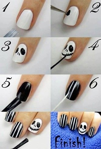 halloween-nail-art-tutorials-2016-7