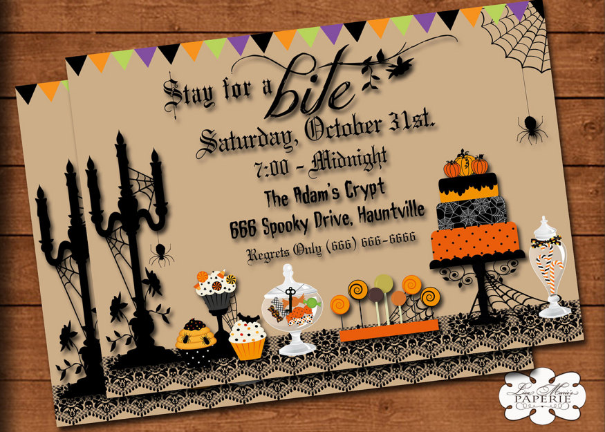 Halloween Party Invitations for Kids and Adults 2016 | Girlshue