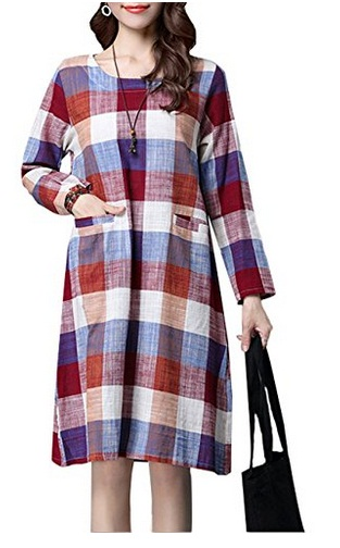 lovely-plaid-dresses-for-fall-2016-14