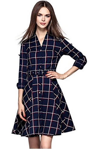 lovely-plaid-dresses-for-fall-2016-7