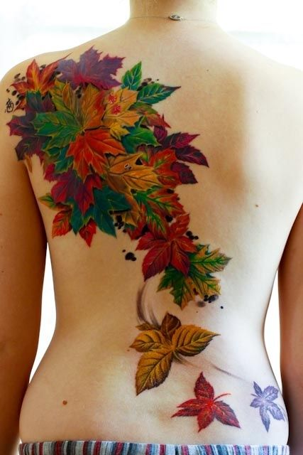 maple-leaf-tattoos-for-autumn-2016-10