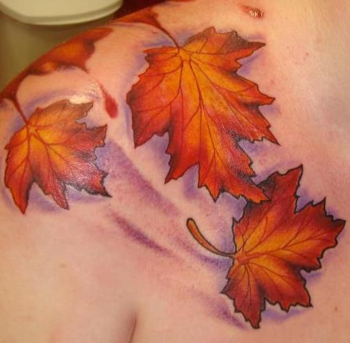 maple-leaf-tattoos-for-autumn-2016-2