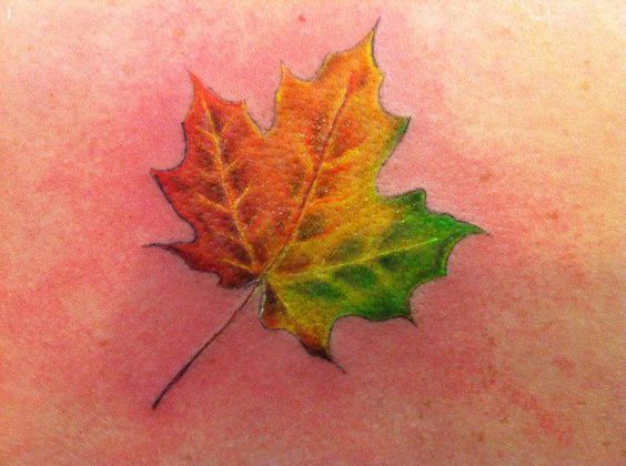 maple-leaf-tattoos-for-autumn-2016-5