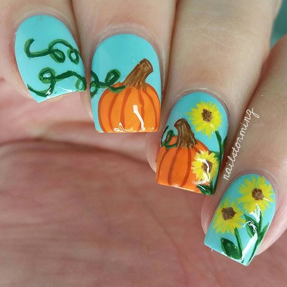 25-pumpkin-nail-art-ideas-2016-4