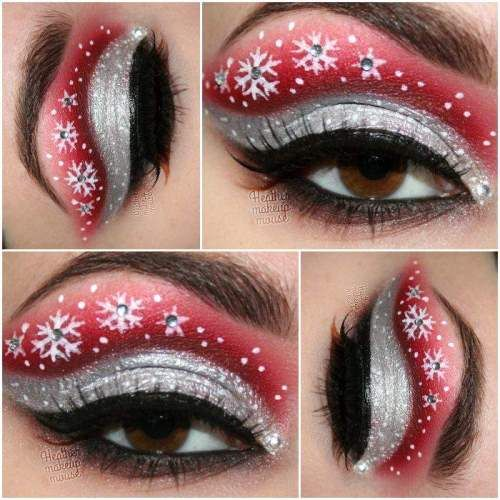 20-festive-and-creative-christmas-makeup-ideas-2016-14