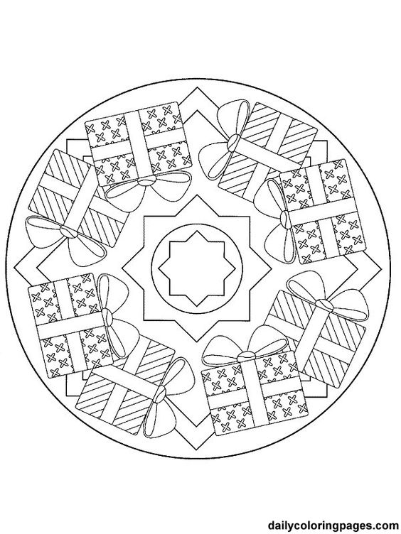 christmas-themed-mandala-tattoo-designs-and-ideas-2016-9