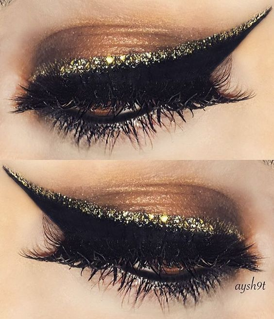 creative-christmas-eyeliner-ideas-2016-14