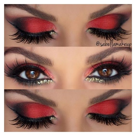 creative-christmas-eyeliner-ideas-2016-5