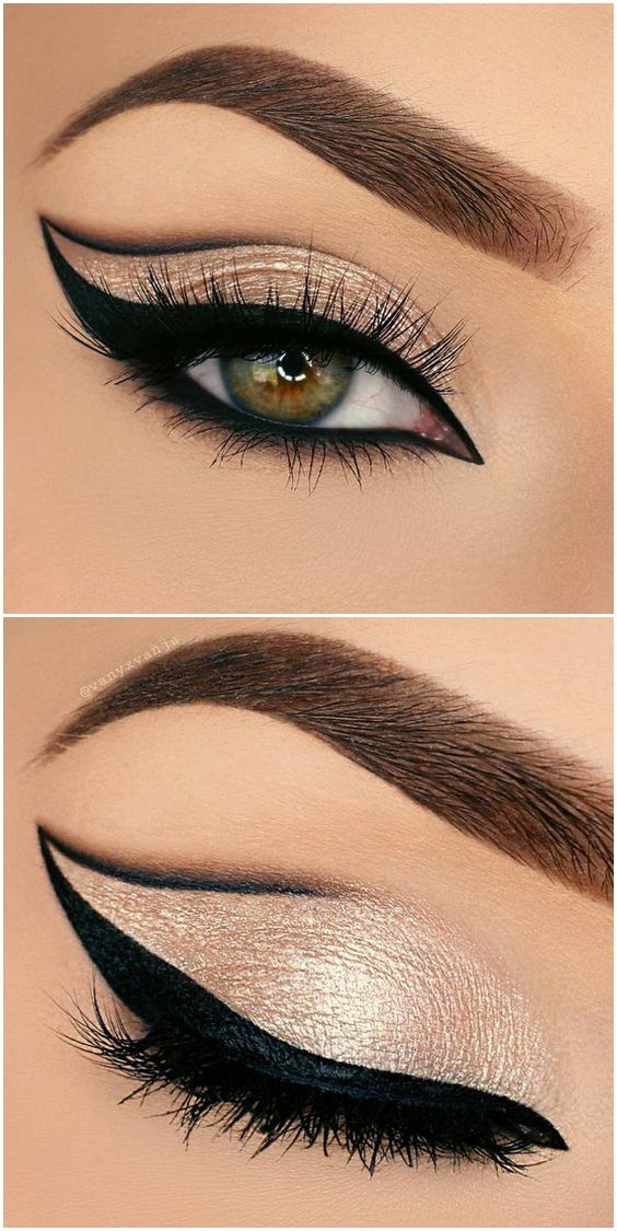 creative-christmas-eyeliner-ideas-2016-6