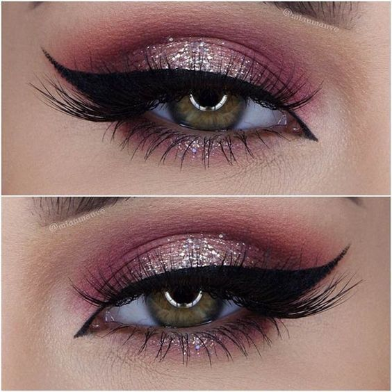 creative-christmas-eyeliner-ideas-2016-7