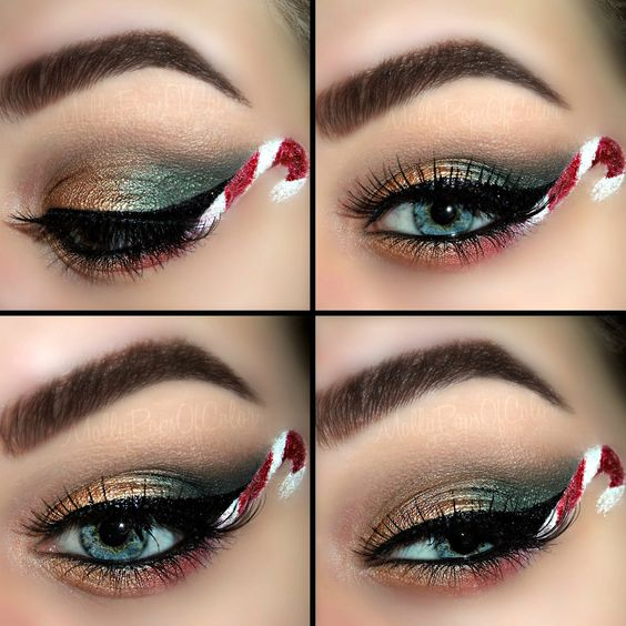 creative-christmas-eyeliner-ideas-2016-8