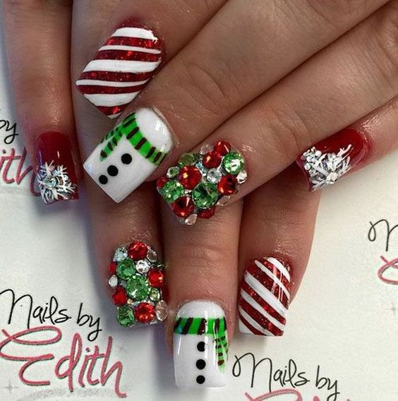 creative-christmas-nail-art-ideas-2016-3